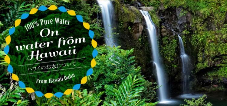 ハワイアンウォーターの水のイメージ画像