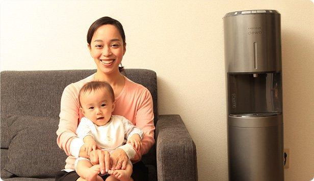 フレシャスのデュオと赤ちゃんの写真