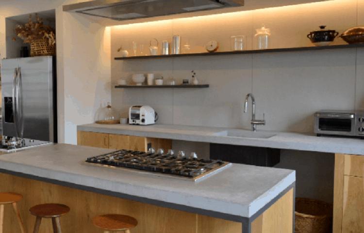 タカギの浄水器を使ってるキッチン