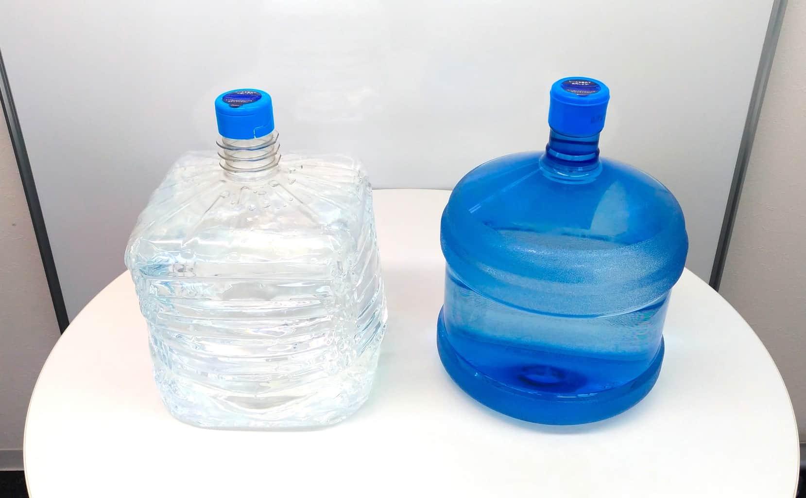 ウォーターサーバーのボトル