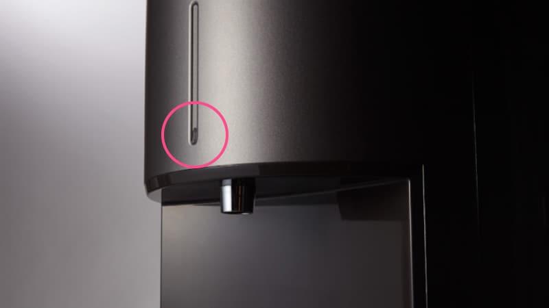 光センサーの位置