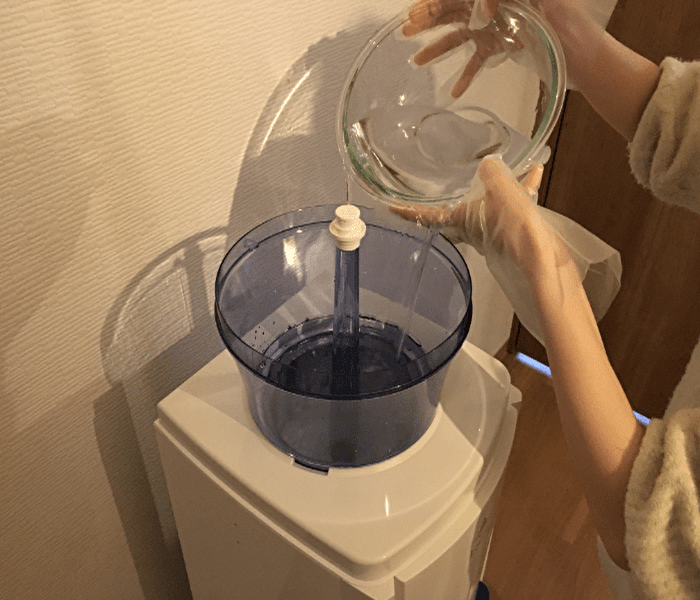 種類2.水道水補充型のウォーターサーバー